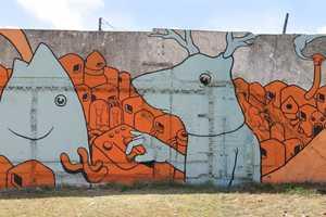 Gualicho's Graffiti is Colorful and Imaginative