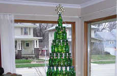 Strange Christmas Trees Bring New Delight This Holiday Season