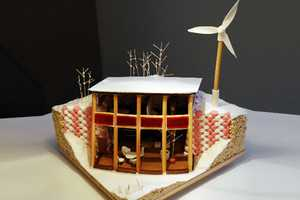 The Earthship Lollipop is an Eco-Friendly Gingerbread House