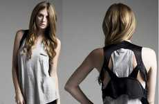 Back Cut-Out Fashion - Funktional's Spring/Summer Collection is a Hipster's Dream
