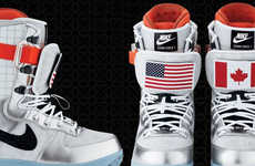 Hill-Shredding Space Boots - Zoom Force 1 Snowboard Boots are Out of This World