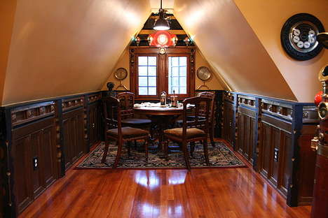 Custom Steampunk Abodes