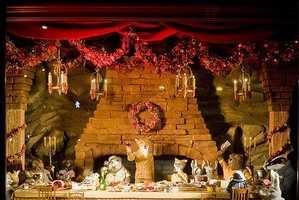 Fantastic Mr. Fox Bergdorf Goodman's Holiday Scenes