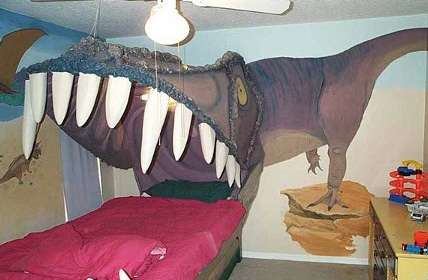 DIY Dinosaur Beds