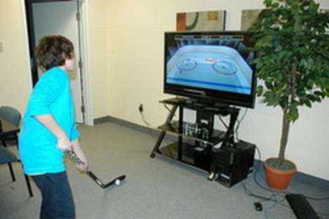 Virtual Hockey Practice