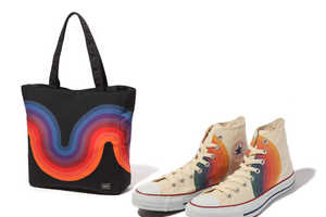 Verner Panton Designs for Converse and Porter