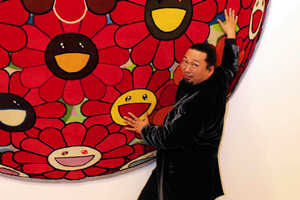 Takashi Murakami Rugs for Louis Vuitton