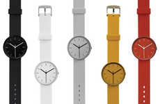 Bright Minimalist Time-Tellers