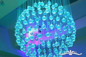 'Aquamarine' Spa Salon by Julia Musienko is a Neon Wonderland