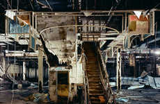 Abandoned Shopping Malls - Brian Ulrich Captures Recessionary Fallout and Urban Decay