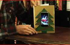 DIY iPhone Christmas Cards - Tech-Friendly Gift May Be the Most Expensive Card Ever