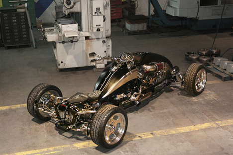 Hot Rod Motorcycle Hybrids