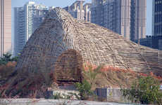 Urban Bamboo Shelters - The Bug Dome by WEAK! Architects