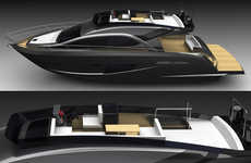 Badass High-Class Yachts - The Sentori 50 R is a Floating Beast