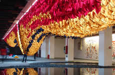 The Ball-Nogues 'Built to Wear' Installation Brings Attention to the Garment
