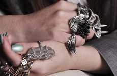 Mega Multi-Ringed Hands