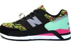 Neon Hipster Kicks