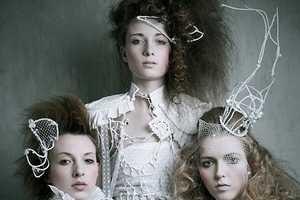 '3 Queens' by Dominik Smialowski is Awash in Winter White
