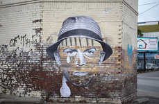 Gritty Graffiti Portraits