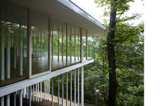Pillar Partitioned Homes - Secluded, See-Through Living in the Direction House by TNA