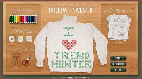 Virtual X-Mas Knitting