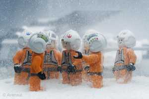 Lego Stormtroopers in the Snow Photography by Avanaut