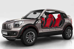 The New MINI Cooper Beachcomber With Removable Doors and Roof