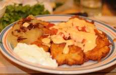 Mexi-Jewish Food Combos - Nachos and Latkes Come Together to Create Latkchos
