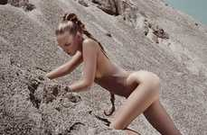 Desert Dust Lingerie - The Sylvie Malfray Photoshoot With Marloes Horst