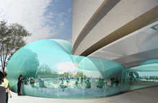 Bubble Popping Buildings - The Hirshhorn Museum Creates an Air of Lightness