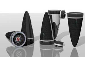 Kyong Choi's Portable Speakers Kicks Up the Music Experience