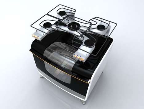 Stoves for Singles - Hi-Fire Stoves by Fernando Silva are Ergonomic and Practical
