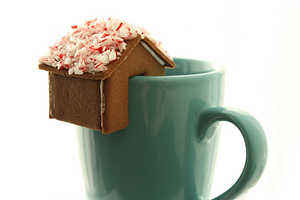 The Mini Gingerbread House For Mugs