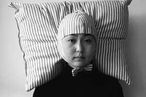 Artist Jooyoon Paek Creates a Pillow and Wig Hybrid for Modern Urbanites