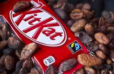 Fairtrade for Nestle Kit Kat Most Popular Bar in Britain