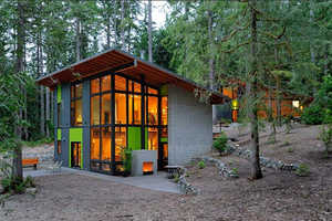 Johnson Architects Present the Schell-Wheeler House in the Cascades