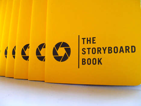Noteworthy Notebooks - The Storyboard Book Lets You Document Your Life Like a Movie