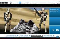 Blowing Up Your Friends - Adidas Star Wars App Lets You Laser Your Facebook Buddies