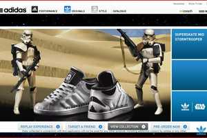 Adidas Star Wars App Lets You Laser Your Facebook Buddies
