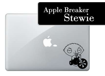 Tooned Laptop Decals - Adorn Your Computer With Stewie Griffin or Maggie Simpson