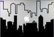 Cityscape Laptop Decals