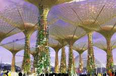 Solar Tree Gardens - The Bay South Botanical Preserve Will Be Singapore's Largest Biosphere