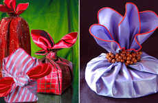 Silky Gift Kerchiefs - Bobo Wrapping Scarves are a Sustainable and Stylish Way to Give