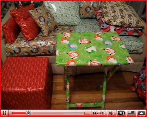 Wrapping Paper Pranks