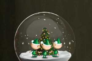 Santa's Snowglobe Attacks Santa's Little Helpers With Storms and Reindeers