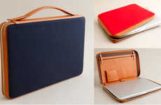 Classy Computer Cases - Want Organic for J Crew is a Collaboration Made in Laptop Heaven