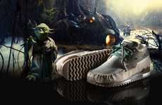 The Force-Inspired Footwear - The Adidas Star Wars 2010 Campaign Embodies Classic Characters (UPDATE