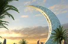 New Moon Building Represents Power and Prosperity in the Orient