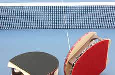 Glove Paddles - The Brodmann Blades Create a More Intuitive Ping Pong Game