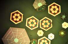 Solar Snowflakes